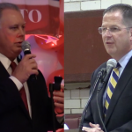 Through mailers, Stack, Sires plead their cases in West New York Dem committee fight