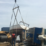 Hoboken removes two capsized boats from Weehawken Cove, owners will foot the bill