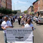 Jersey City Anti-Violence Coalition Movement marches to stop gun violence