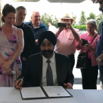 Hoboken Mayor Bhalla signs executive order to fund public art installations