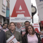 West New York's Column A leaders host rally ahead of Dem committee fight