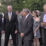 Murphy, Menendez participate in Davis' inauguration ceremony at Bayonne City Hall