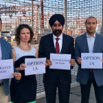 Hoboken officials come together in support of 'Option 1' Rebuild by Design plan
