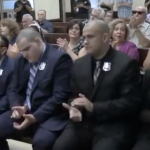 West New York Police Department swears in five new officers at Town Hall ceremony
