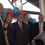 Hudson Dems rally for Menendez, who takes aim at Hugin, at annual HCDO gala