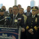 Port Authority PBA, Hudson sheriff's office, firefighters unions endorse Menendez