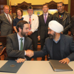 Mayors Fulop, Bhalla sign executive orders for LBGTQ, veteran, disability-owned businesses