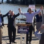 Looking to boost Menendez, Booker headlines GOTV rallies in Hoboken and Jersey City