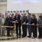 Murphy joins Hudson County officials in Secaucus to cut the ribbon on new tech school