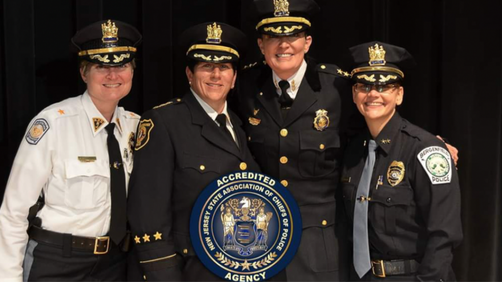 Union City Names Luster First Female Police Chief Promotes 7 Other Officers Hudson County View