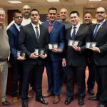 North Bergen police expand department by swearing in five new officers
