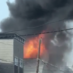 UPDATED: No injuries reported yet as local firefighters battle five-alarm blaze in Bayonne