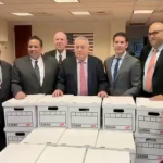 Sacco re-election slate delivers over 52k petitions ahead of North Bergen elections