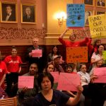 Teachers, residents for and against Airbnb, take over Jersey City Council meeting