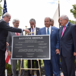 Murphy, Menendez, Sires come out to Bayonne for bridge rededication ceremony