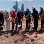 Weehawken officials break ground on new $9 million additions to waterfront park