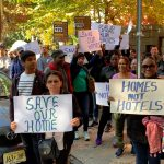 Jersey City officials, activists rally to protest Airbnb listings in rent-controlled building
