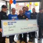 North Bergen optician fundraises for colon cancer awareness during No Shave November