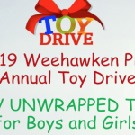 Weehawken PBA's 12th annual toy drive underway, will continue through mid-December