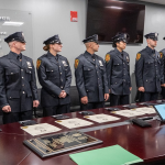 NJ Transit Police Department swears in 9 new recruits, including 3 women