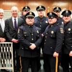 Kearny police promote 2 captains, 2 lieutenants, and 2 sergeants at Town Hall ceremony