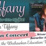 80's pop star Tiffany, of 'I Think We're Alone Now' fame, to perform in Weehawken