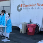 Bayonne COVID-19 testing site has plans to accommodate healthcare workers, 1st responders