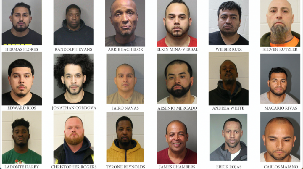 Hudson County Sheriff S Office Sweep Arrests 59 Including One For Criminal Sexual Contact Hudson County View