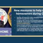 Murphy issues executive order allowing security deposits to be used for rent payments