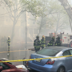 4-alarm Bayonne fire on Kennedy Boulevard displaces 45 people, building to be demolished