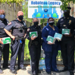 Wife of fallen Jersey City cop, a health care worker, organizes community PPE giveaway