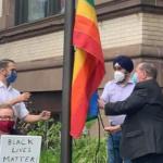 Despite uncertain times, Hoboken still raises rainbow flag for LGBTQ Pride Month