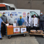 IBEW Local 164 spends $50k on PPE, food for 17 hospitals in Bergen, Hudson, & Essex