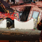 Police: No serious injuries after North Bergen MUA truck crashes into two homes on 51st Street
