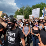 100s march through North Hudson for Black Lives Matter protest over George Floyd's death