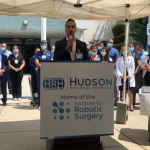 Hudson Regional Hospital recognizes over 100 for their contributions to Secaucus during COVID-19