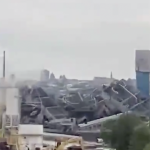 Ohio-based demolition company imploded former PSEG station in Jersey City early this morning